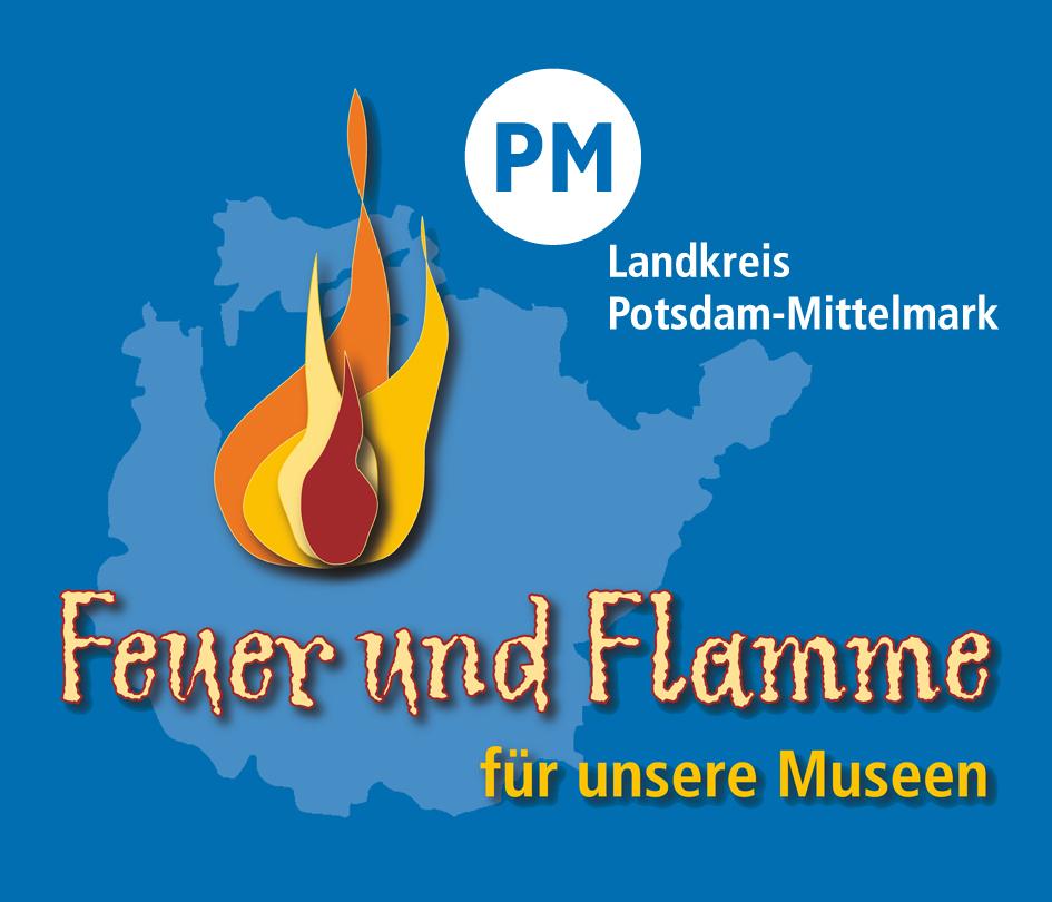 Logo Feuer und Flamme für unsere Museen 2015